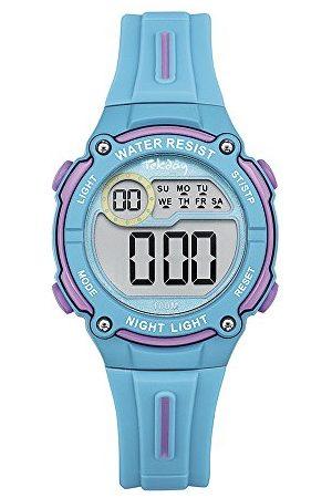 Tekday Unisex dziecięcy zegarek cyfrowy z silikonową bransoletką 653999