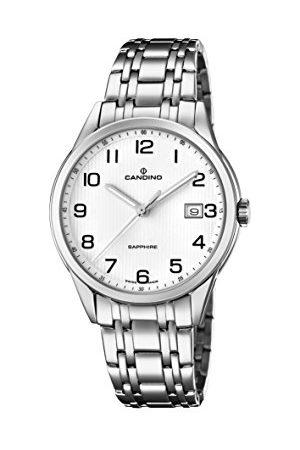 Candino Męski datownik klasyczny zegarek kwarcowy z bransoletką ze stali szlachetnej C4614/1