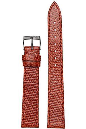 Morellato Bransoletka skórzana do zegarka męskiego LIVORNO złotobrązowy 16 mm A01U2116372041CR16
