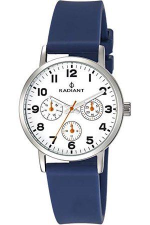 Radiant Unisex Dorośli Analogowy zegarek kwarcowy z gumową bransoletką RA448703