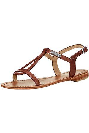 Les Tropéziennes par M Belarbi Hamess C11467 damskie sandały z odkrytymi palcami, - Braun Tan Brosse - 39 eu