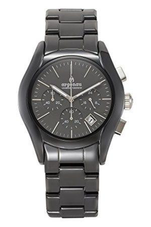 ARGONAU Unisex Dorośli Analogowy zegarek kwarcowy z ceramiczną bransoletką AU1301