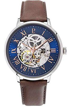 Pierre Lannier Męski analogowy automatyczny zegarek ze skórzanym paskiem 322B164