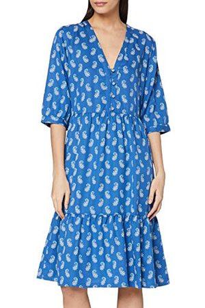 People Tree Damska sukienka w stylu V&a Neha z dekoltem w serek