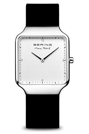 Bering Damski analogowy zegarek kwarcowy z silikonową bransoletką 15832-404