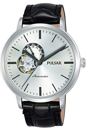 Pulsar P9A005X1 automatyczny zegarek męski ze skórzanym paskiem
