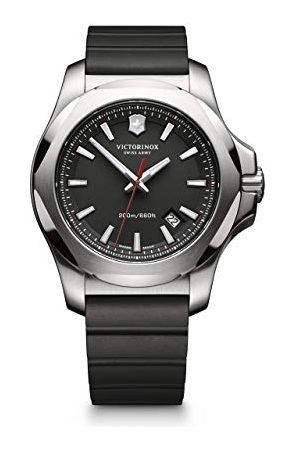 Victorinox Zegarek męski analogowy kwarcowy z paskiem kauczukowym – 241682.1