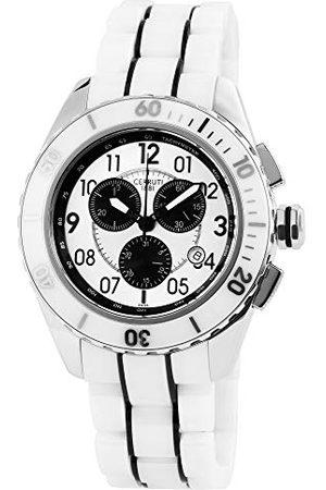 Cerruti 1881 Cerruti męski analogowy zegarek kwarcowy z ceramiczną bransoletką CRA079Z251H