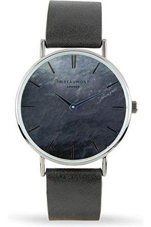 Elie Beaumont Męski analogowy japoński zegarek kwarcowy z paskiem ze sztucznej skóry MB1805.2