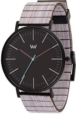 WeWood Unisex analogowy japoński zegarek kwarcowy z drewnianą bransoletką WW61004