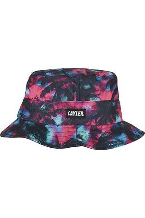 Cayler & Sons Unisex Baseballówka C&S WL Drop Top Trees odwracalna Bucket Hat czapka bejsbolówka, czarna/mc, jeden rozmiar