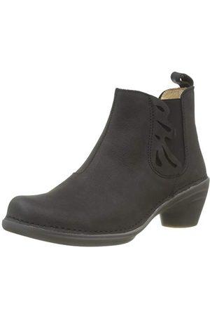 El Naturalista Damskie buty z krótką cholewką N5334, - Black Black 000-39 eu
