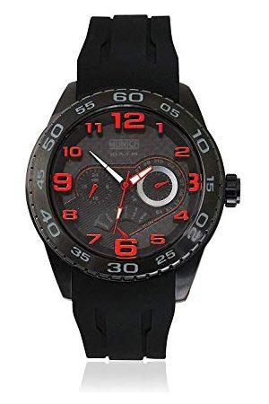 Munich Unisex dla dorosłych analogowy zegarek kwarcowy z gumową bransoletką MU+136.1A