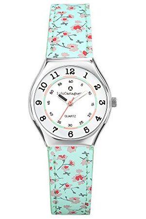 Lulu Castagnette Dziewczęcy analogowy zegarek kwarcowy ze skórzanym paskiem 38826