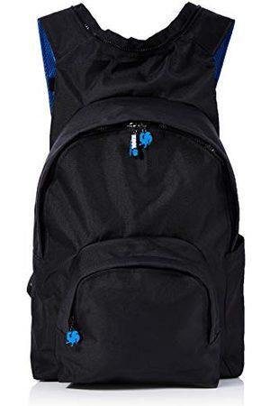 Morikukko Uniseks - dorosły plecak z kapturem kool plecak (Kool Black Blue)