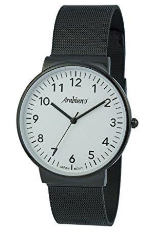 ARABIANS Męski analogowy zegarek kwarcowy z bransoletką ze stali szlachetnej HNA2235WB