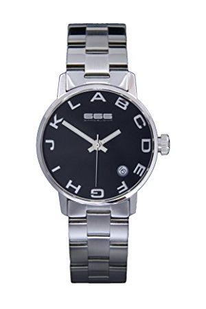 666Barcelona Uniseks dla dorosłych analogowy zegarek kwarcowy z bransoletką ze stali szlachetnej 66-276