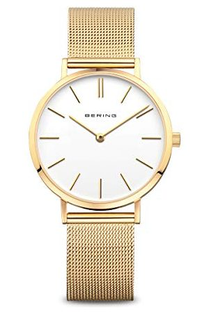 Bering Damski zegarek na rękę analogowy kwarcowy stal szlachetna 14134-331