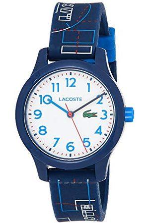 Lacoste Unisex-dziecko analogowy klasyczny zegarek kwarcowy z silikonowym paskiem 2030008