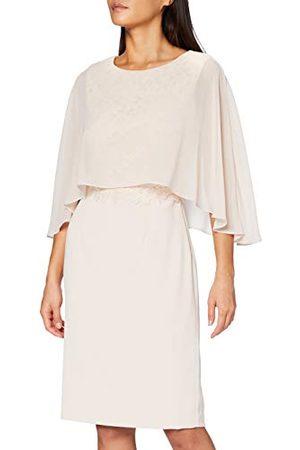 Gina Bacconi Damska sukienka Devra z szyfonową koronką dla matki panny młodej