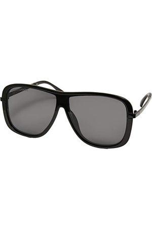 Urban classics Unisex Sunglasses Milos okulary przeciwsłoneczne, czarne/czarne, jeden rozmiar