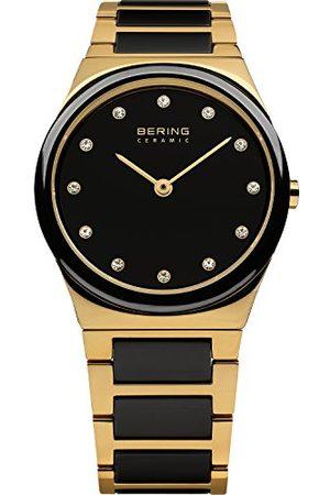 Bering Time 32230-741 damski zegarek na rękę kolekcja Ceramic z paskiem ze stali szlachetnej i odpornym na zarysowania szkiełkiem szafirowym. Zaprojektowany w Danii