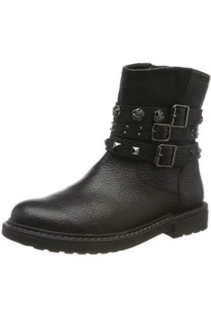 Geox J Eclair Girl B Biker Boots buty damskie, - Schwarz Black C9999-37 EU