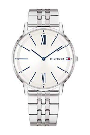 Tommy Hilfiger Mężczyzna Zegarki - Męski analogowy klasyczny zegarek kwarcowy z paskiem ze stali nierdzewnej 1791511