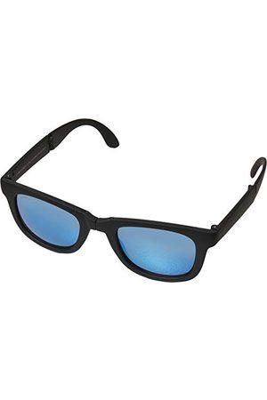 Urban classics Unisex składane okulary z etui, czarne, jeden rozmiar