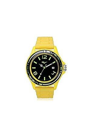 Everlast Uniseks dla dorosłych analogowy zegarek kwarcowy z silikonowym paskiem EVER33-214-006