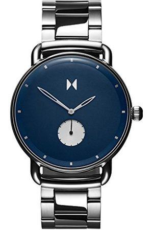 MVMT Męski analogowy zegarek kwarcowy z paskiem ze stali nierdzewnej D-MR01-BLUS