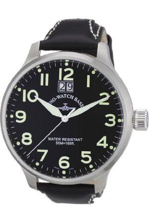 Zeno Męski zegarek kwarcowy Quarz 6221Q-a1 ze skórzanym paskiem