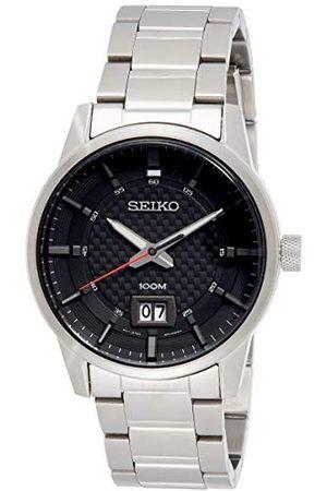 Seiko SUR269P1 kwarcowy męski zegarek ze stali nierdzewnej z metalowym paskiem