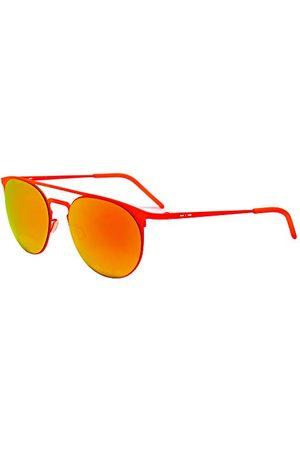 Italia Independent Unisex 0206-055-000 okulary przeciwsłoneczne, pomarańczowe (Naranja), 52.0