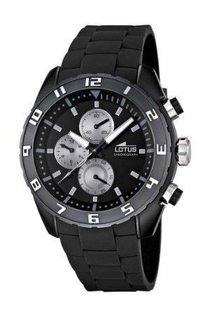 Lotus Męski zegarek na rękę chronograf guma 15842/6