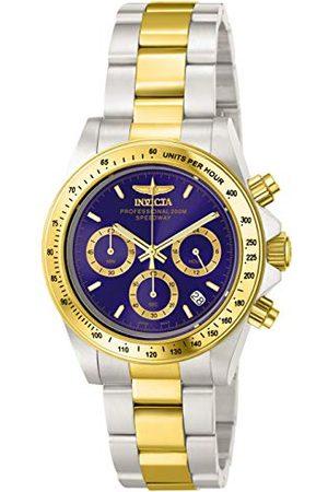 Invicta 3644 Speedway Unisex zegarek stal szlachetna kwarc cyferblat