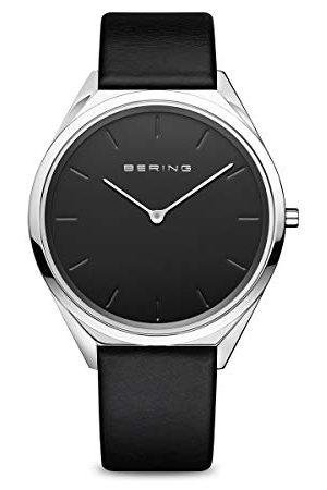 Bering Unisex analogowy zegarek kwarcowy z bransoletką ze stali szlachetnej 17039-402