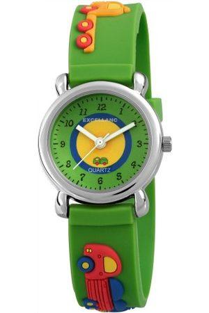 Excellanc Unisex Zegarek na rękę analogowy kwarcowy kauczuk 407026000036