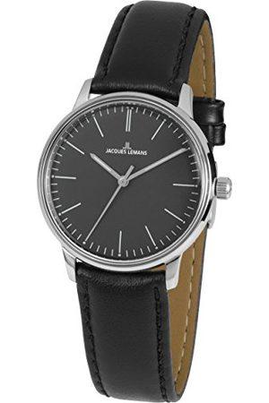 Jacques Lemans Męski analogowy zegarek kwarcowy ze skórzanym paskiem N-217A