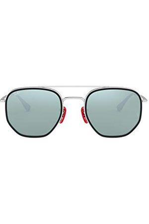 Ray-Ban Unisex 0RB3748M-F03130-52 okulary do czytania, srebrne, 52