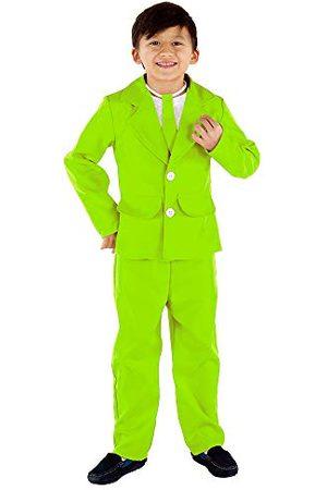 Dress Up America Męski 3-częściowy kostium Party Suit, wielokolorowy (Multicolor), rozmiar 12-14 lat (talia: 86-96 wysokość: 127-145 cm)