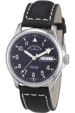 Zeno Unisex zegarek na rękę Basic analogowy automatyczny skóra 12836DDN-a1
