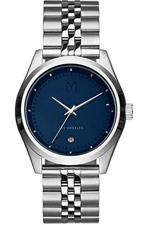 MVMT Unisex – dla dorosłych analogowy zegarek kwarcowy z bransoletką ze stali szlachetnej D-TC01-BLUS