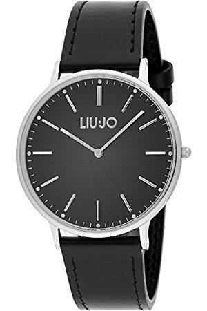 Liu Jo Męski analogowy kwarcowy zegarek ze skórzanym paskiem LJW-TLJ1232