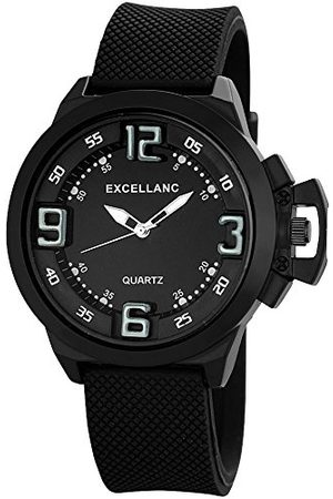 Excellanc Męski zegarek na rękę XL analogowy kwarcowy kauczuk 22577100015