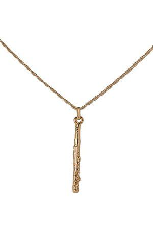GEWA 980130 wisiorek unisex flet w kolorze złotym z łańcuszkiem