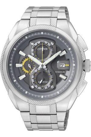 Citizen Męski zegarek na rękę Chronograf Super Titanium CA0200-54H