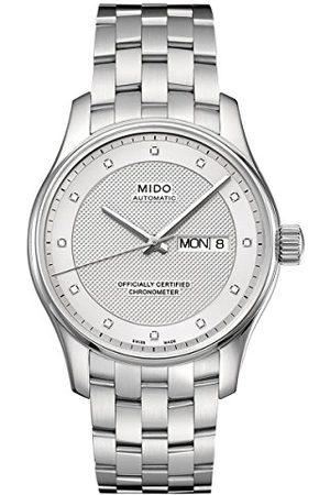 MIDO Męski zegarek na rękę XL Belluna analogowy automatyczny stal szlachetna M0014311103692