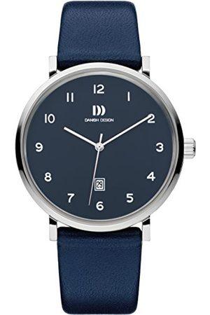 Danish Design Męski analogowy zegarek kwarcowy ze skórzanym paskiem IQ22Q1216
