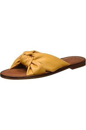 Gadea Damskie sandały Ana1487-3 płaskie, żółty - Sofia Safron - 37 eu